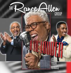 "Rance Allen Group Release New Single"" ""A Lil Louder Clap Your Hands"" More R&B Sound 