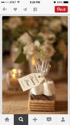 Don't forget the perfect winter wedding favors!