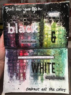 I love this! Glad to see someone's art journaling still not just me!