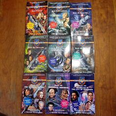 BABYLON 5 Lot of 9 Paperbacks 1-9 Various Author Series Stirling Tilton Vornholt