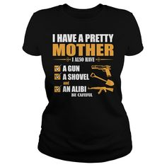 I Have a Guardian Angel In Heaven I Call Her Mom Mens T Shirt