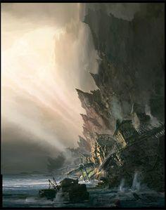 Gears of War 3 concept art. - Polycount Forum