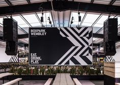 Boxpark Wembley gets a new identity and launch campaign courtesy of Filthy Media, Graphic Design Visual Design, #branding, #design, #graphicdesign , #graphic , #typography, #illustrations, #socialmedia , #business , #new , #learning , #webdesign , #ideas
