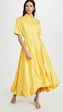 Whit Maude Dress | SHOPBOP Rachel Comey, China Fashion, Nice Dresses, Collars, Bubbles, Short Sleeves, Gowns, Model, Cotton