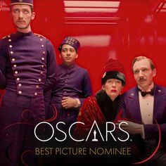 """""""The Grand Budapest Hotel"""" nomination Oscar Best Picture, Best Picture Nominees, La Famille Tenenbaum, Lobby Boy, Wes Anderson Movies, Grand Budapest Hotel, Cool Pictures, Boys, Movie Posters"""