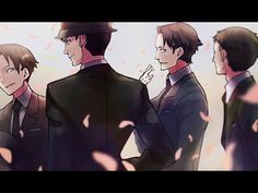 Miyoshi, Sakuma, Amari and Kaminaga || Joker Game