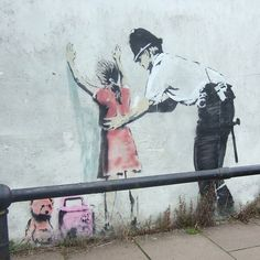40 Powerful Photos Show Why Banksy Is the Spokesman of Our Generation - MicDo our armed forces protect us or persecute us?