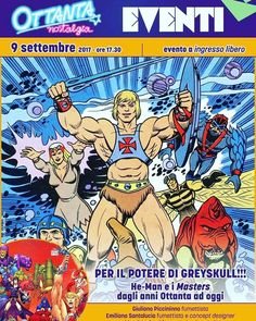 Masters of the Universe evento