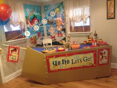 Jake and neverland pirate birthday party ideas