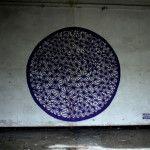Geometric street art in Poland by SEIKON