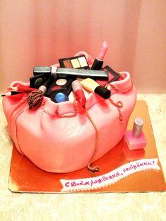 Girl's pink dream :) — Birthday Cake Photos