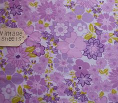 Retro Floral Vintage fabric