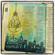 "Melissa @fischtales Psalm 27:1 ""...Instagram photo 