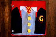 The Quiet Book Blog- Harry Potter Quiet book