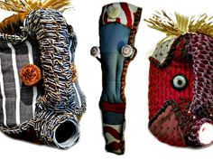 Shop our collection of beautiful textile African masks, handmade from upcycled containers and embellished with an assortment of local fabrics and other media by local artisans in Hout Bay, South Africa. African Masks, Artisan, Banana, Textiles, Fabric, Handmade, Beautiful, Collection, Tejido