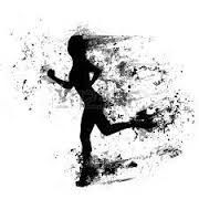Image result for runner silhouette girl hair