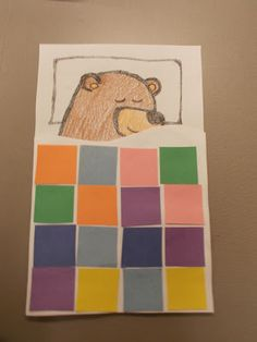 Fun with Friends at Storytime: Beary Sleepy Bedtime Toddler Crafts, Crafts For Kids, Kindergarten Art Lessons, Bear Crafts, Alphabet Crafts, Conte, Story Time, Preschool Crafts, Preschool Activities