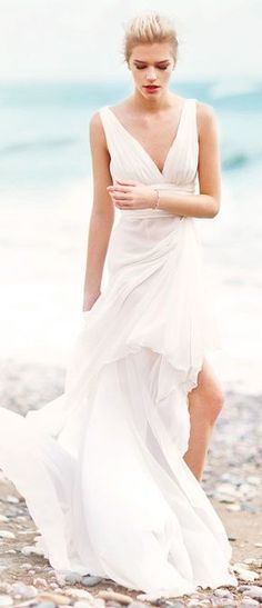 beach wedding dress 2014
