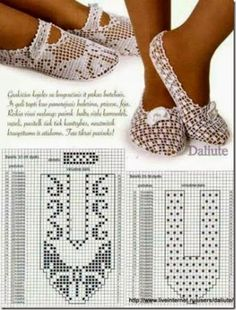 Filet crochet - Filet crochet Best Picture For anello black For Your Taste You are looking for something, and it - Crochet Sandals, Crochet Boots, Crochet Clothes, Filet Crochet, Crochet Diy, Crochet Amigurumi, Knitted Slippers, Slipper Socks, Knitting Patterns