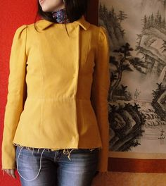Fall jacket!   Love this blog