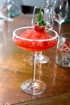 Mickey Finn Strawberry Margarita