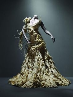 "Love - Alexander McQueen's ""Oyster"" Dress"