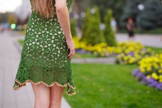 crochet dress patterndetailed tutorialcrochet by ThePoshCrochet