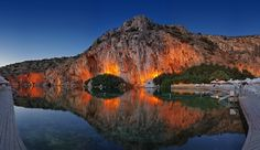 Aspect of Vouliagmeni Lake, Athens