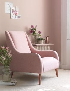 Sofa Workshop small sofa bolster Customers own material Customers own material charge Wing Chair, Sofa Chair, Sofa Bed, Pink Furniture, Home Furniture, Sofa Workshop, Types Of Sofas, Cosy Corner, Home