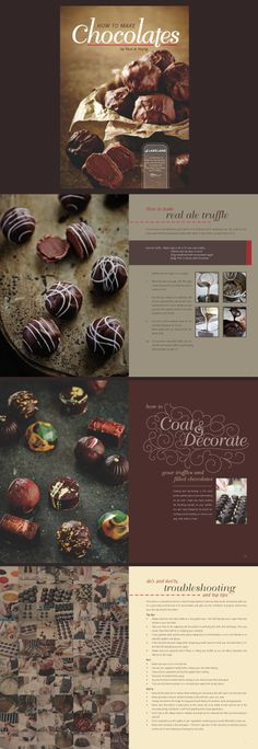 Lakeland Chocolate Book written by Paul A Young Graphic design and typography by Furious Lemon