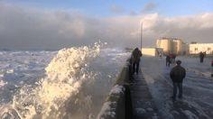 Tempête à Saint-Guénolé, vendredi 3 janvier 2014 (2)