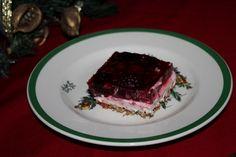 Raspberry Pretzel Salad!