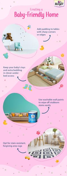When you have a baby around your home, it becomes essential to make the space friendly for them. Here are some tricks to help you in the long run!