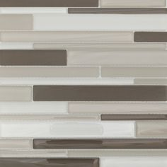 Like the shore at dusk, this combination of neutrals emits a grayish tone with this set of six tile sheets. The smooth gloss and matte finish is a perfect array of serenity.