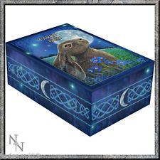 GORGEOUS   ' TAROT BOX -  MOON GAZING HARE '   -  BY LISA PARKER   -   BRAND NEW