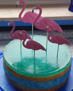 Flamingotorte