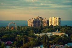 Вид на парк Шевченко, Одесса