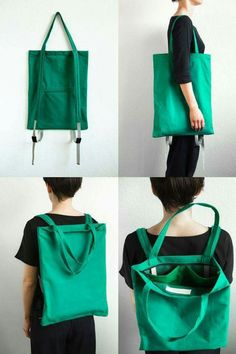 backpack that double as a tote bag! - - backpack that double as a tote bag! FASHION accessories Rucksack, der auch als Einkaufstasche dient! Diy Fashion Accessories, Bag Accessories, Fashion Jewelry, Tote Backpack, Fashion Backpack, Rucksack Bag, Messenger Bags, Linen Bag, Denim Bag