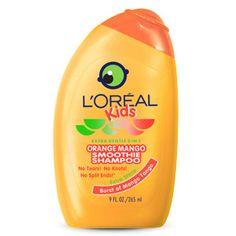 L'Oréal Kids Orange Mango Smoothie 2-in-1 Shampoo for Extra Shine - Shampoo & Conditioner - L'Oreal Paris