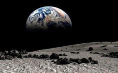 earth rise... the view from Luna