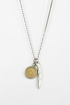 Ax + Apple Heirloom Necklace #urbanoutfitters