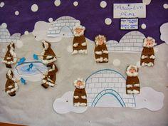 Νηπιαγωγός από τα πέντε...: ΟΙ ΦΥΛΕΣ ΤΟΥ ΚΟΣΜΟΥ-ΟΙ ΕΣΚΙΜΩΟΙ Preschool Education, Winter Art, Penguins, Projects To Try, Snoopy, Kids Rugs, Activities, Children, Blog