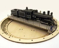 """HO turntable,HO 9"""" turntable. I plan to incorporate this into my switching layout."""