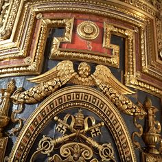 Baroque Ceiling - Substance Designer - by Jonathan BENAINOUS, Jonathan BENAINOUS on ArtStation at https://www.artstation.com/artwork/P9WN1