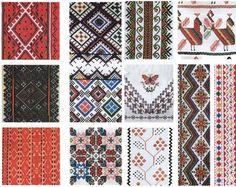 орнаменти у вишивці, шеврони
