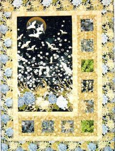 """Quit Pattern - Mountainpeek Creations - Sidelights - Finished size: 46"""" x 62"""""""