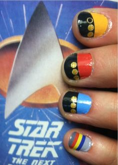 Star Trek Nails the Wesley sweater ones lol