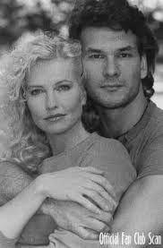 Ptrick Swayze and Lisa Niemi