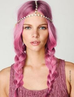 How to Get a Pink Ombre Hairstyle DIY - Hairstyles Magazine : Hairstyles Magazine