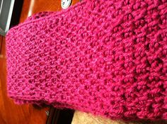 Tunisian crochet honeycomb stitch.